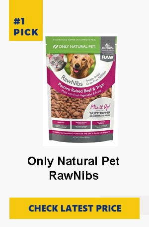 Only Natural Pet RawNibs Freeze Dried Food