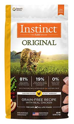 Instinct Original Grain Free Recipe Natural Dry Cat Food