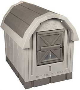 ASL Solutions Dog Palace for Med to Large Dogs - Gray