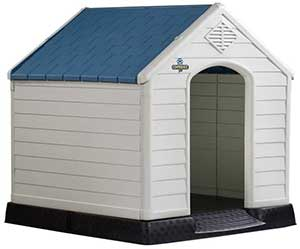 Confidence Pet Plastic Dog Kennel Outdoor House